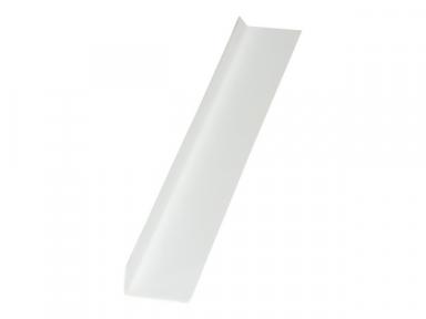 Уголок отделочный пластиковый арочный 20х12х2700 мм белый